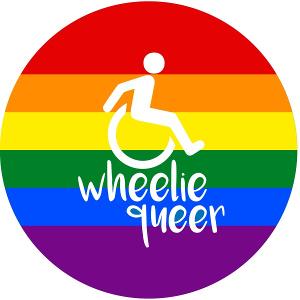 Wheelie queer. (Design: Ellen Murray, www.ellenmurray.co.uk)